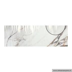 1219 Firenze Calacatta gold 40x120 Revetimiento Relieve Wave