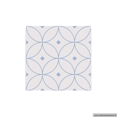 Alhambra Azul 25x25