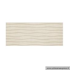 Manhatan crema relieve 33,3x80