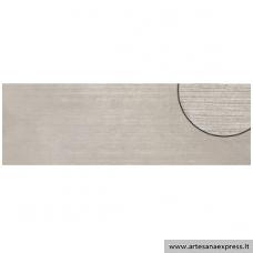 Manhatan gris relieve 30x90