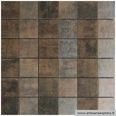 Mosaico Piramide Ignea Oxido 30x30