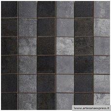 Mosaico Piramide Ignea Titanio 30x30