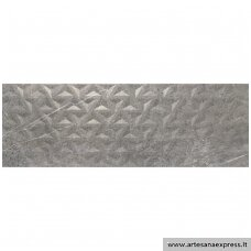 Trevi 1215 Relieve geo grey 40x120