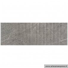 Trevi 1215 Relieve plisse grey 40x120