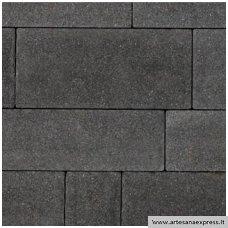 Trinkelės SANTORINI šiurkštus paviršius, spalva tamsus granitas h-60mm