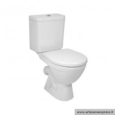 WC Jika Lyra Plus pastatomas su antibakteriniu dangčiu